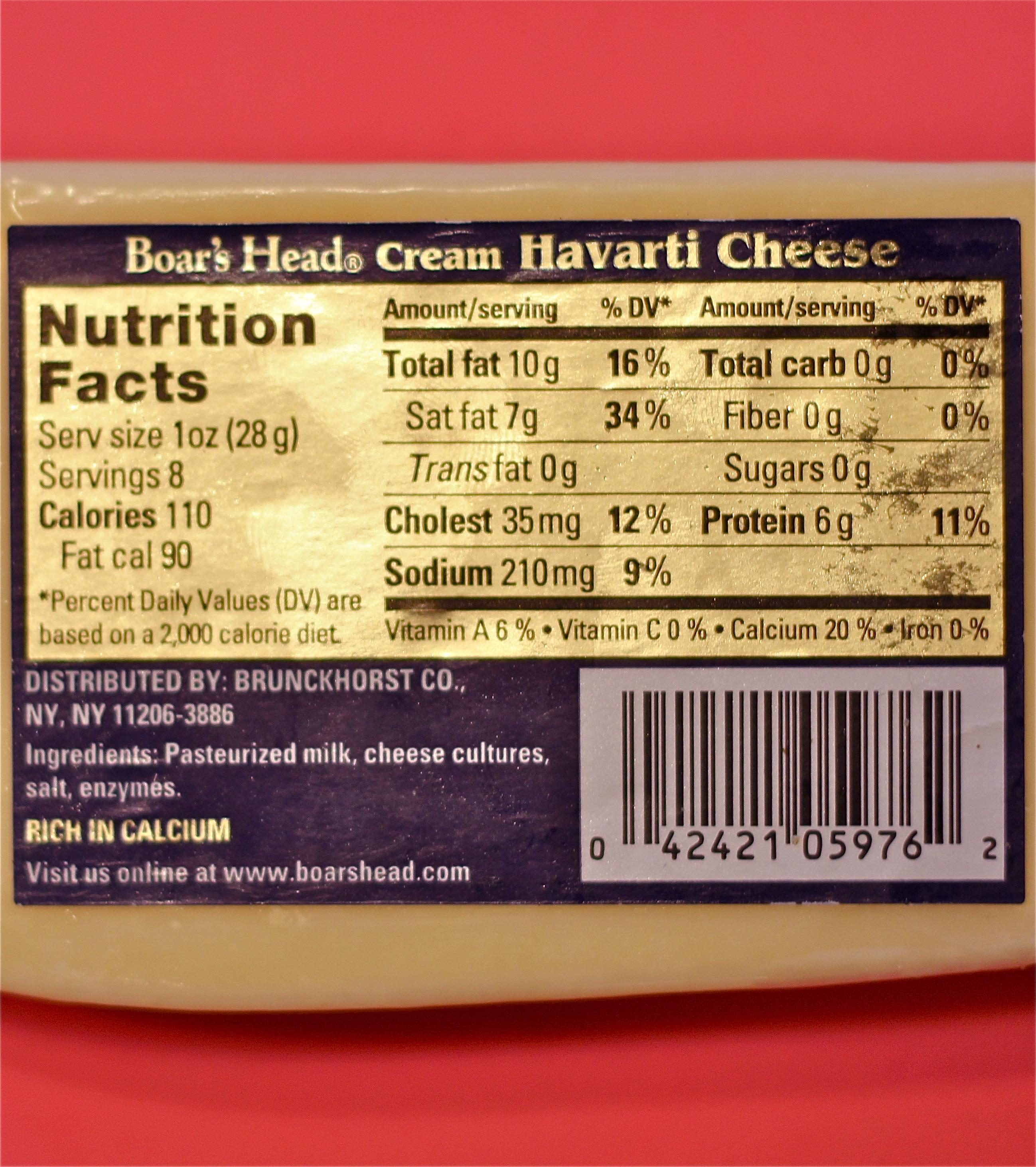 american cheese ingredients
