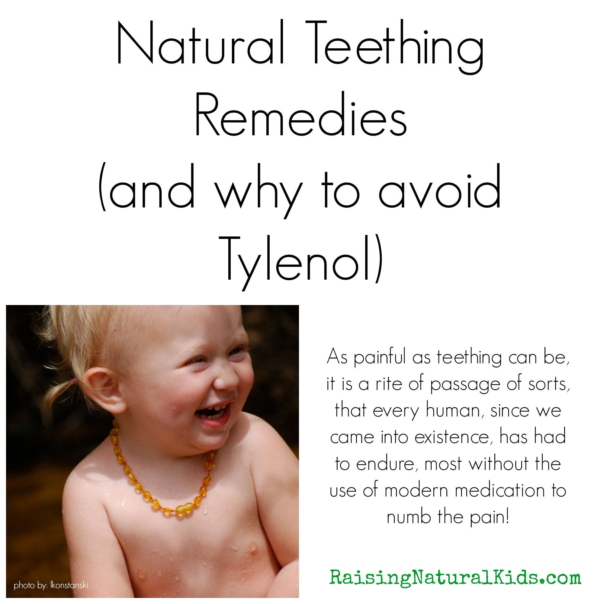 How To Help Ease The Pain Of Teething Naturally (And What
