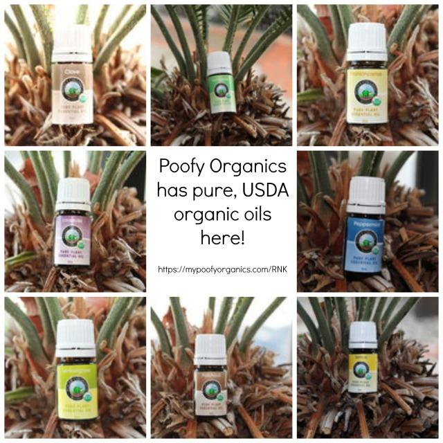 Essential Oils Collage